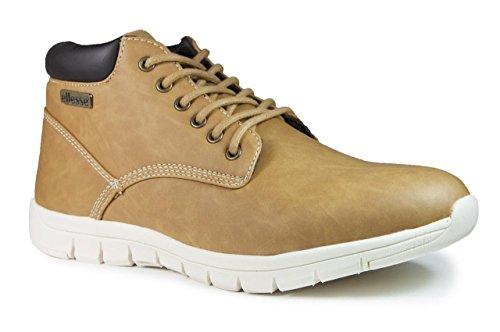Ellesse Boot Sneaker, Zapatillas Altas para Hombre Marrón (Tan)