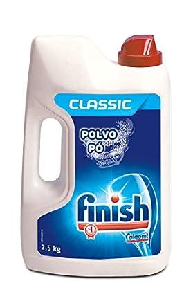 Finish Lavavajillas Polvo - 2,5 kg: Amazon.es: Alimentación y bebidas