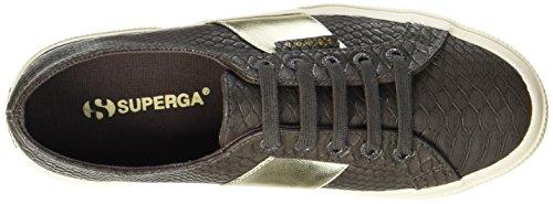 Donna Brown Coffee Marrone Superga Pusnakew Sneaker 2750 S662 STAwOqt6
