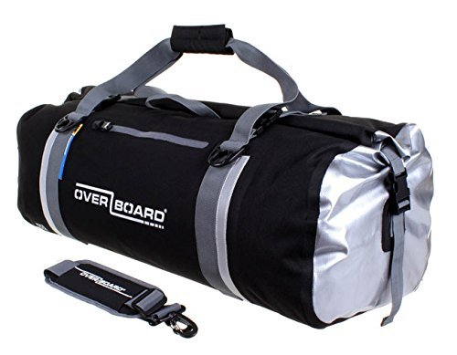 OverBoard Waterproof Classic Duffel Bag, Black, 60-Liter by Overboard