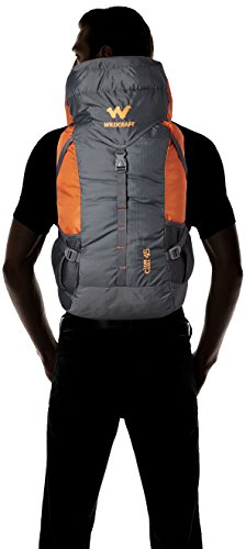 Wildcraft 45 Ltrs Grey and Orange Rucksack (8903338073864) 7