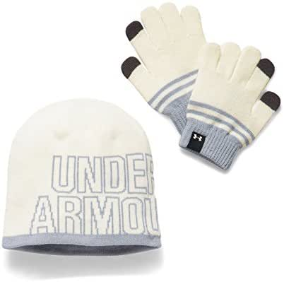 Under Armour Girls Beanie/Glove Combo