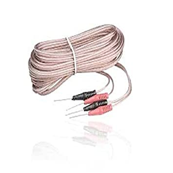 24ft Speaker Cable with Pin Connectors: Amazon.co.uk: Electronics