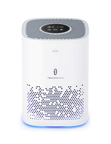 TaoTronics Air Purifier for Home, Quiet 24db for 224 sq.ft, Remove 99.9% Smoke, Allergies, Pet Dander, Odor, Perfect…