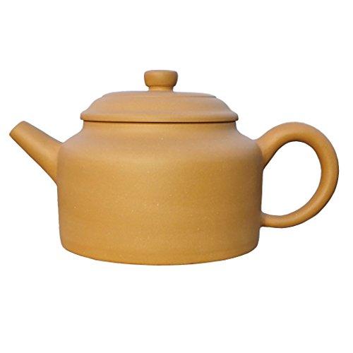 Yixing Teapot Mr Gao Handmade Bell Tea Pot,Nature Yellow Clay,180cc