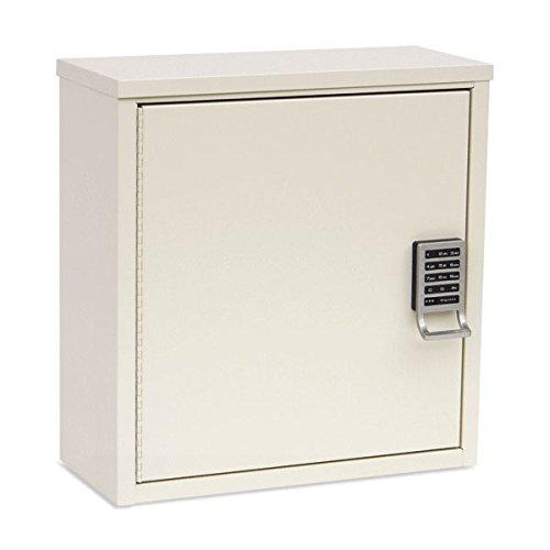 "Single Door Narcotics Cabinet with Digital E-Lock 8""D Unit 16""W x 8""D x 16.75""H"