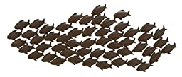Deco 79 Metal Fish Wall Decor, 53 by 20-Inch