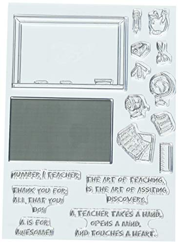 (Brutus Monroe Tina's Classroom Clear Stamps 6