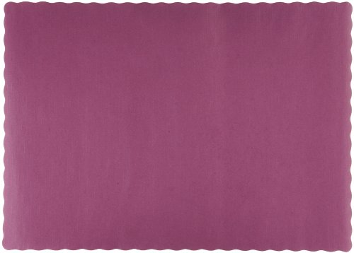 Edge Paper Placemat (Hoffmaster 310524 Paper Placemat, 13-1/2