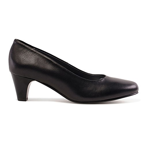 Padders Damen Jane Pumps Schwarz