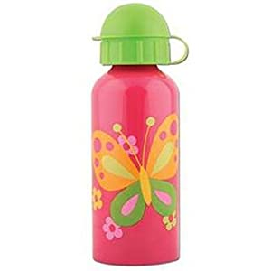 Stephen Joseph Stainless Steel Water Bottle, Butterfly