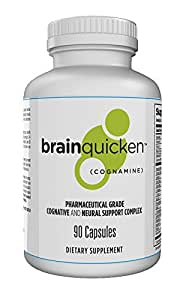 Spring of Life - BrainQuicken® - Fast Acting Focus, Productivity & Memory Supplement - Nootropic Brain Booster to Maximize Cognitive Performance - Lab-Tested With No Dangerous Stimulants