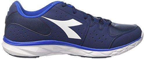 Running Zapatillas de Diadora Hawk Azul Blu Estate Hombre Bianco Blu para 8 Principe SZqcIpWcO4