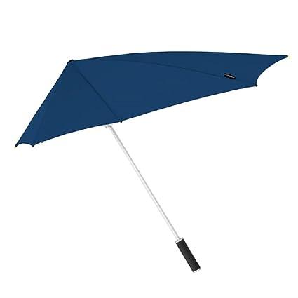 acheter pas cher 508ca 7cc47 Parapluie Long StorMaxi Contre TEMPÊTE et Anti-Vent Bleu - Excellente  résistance au Vent (Jusqu'au 100km/h) - 8 Baleines en Fibre de Verre - ...