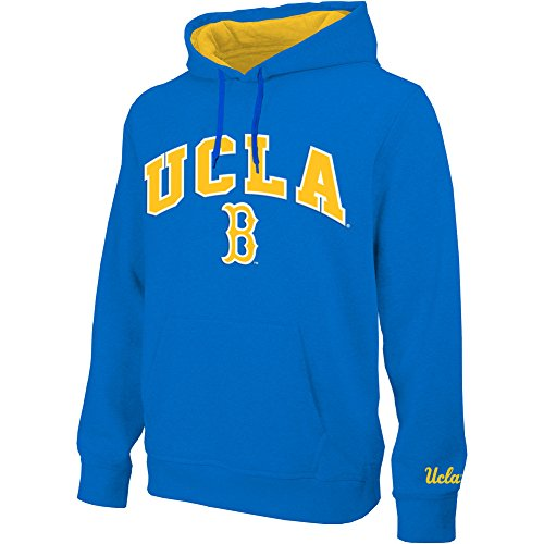 Elite Fan Shop UCLA Bruins Hooded Sweatshirt Arch Blue for sale  Delivered anywhere in USA