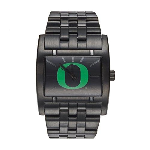 Rockwell NCAA Oregon Ducks Men's Apostle Watch, Adjustable, - Ncaa Black Watch