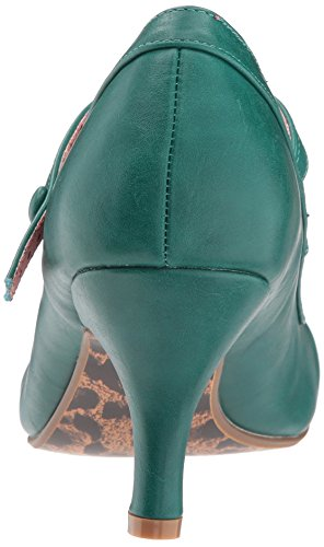 Bettie Page Womens Bp320-bettie Vestito Verde Pompa