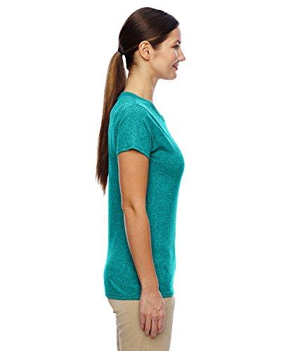 Gildan–Camiseta de manga corta para algodón para mujer pesados–�?000L dANTIQ JADE DOME