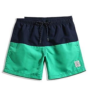 Spearss Hot Men's Board Shorts Beach Swimwear Swimsuits Quick Drying Plus Big Size Active Sweatpants Short Bottoms Jogger