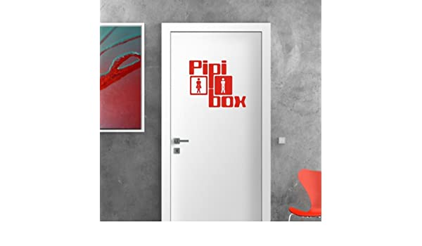mldigitaldesign - Adhesivo de pared Pipi Box, 48 x 48 + raspador ...
