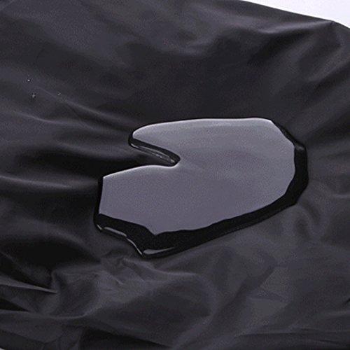 1PS 45L Regen Tasche tragbar Wasserdicht für Outdoor Wandern Radfahren schwarz