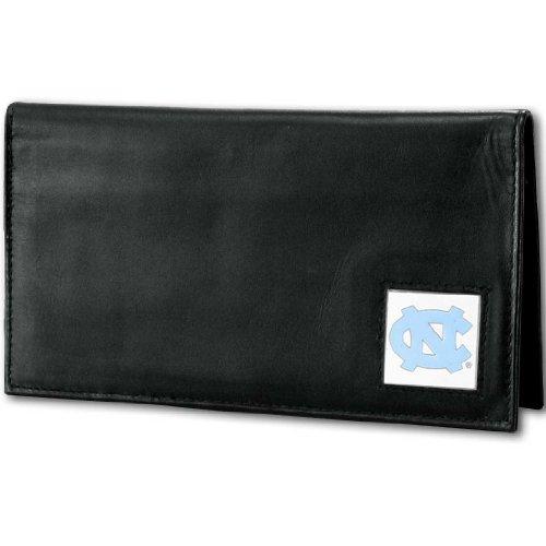 NCAA North Carolina Tar Heels Deluxe Leather Checkbook Cover