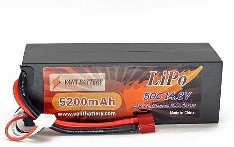 VANT 5000mAh 2S 7.4 100C-200C Shorty LiPo Battery gens ace losi 22 Protek reedy
