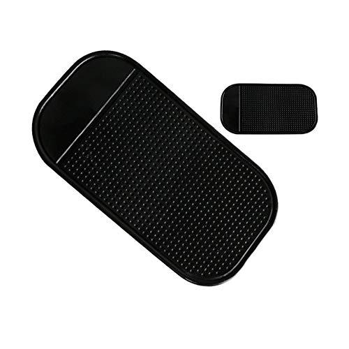 HoganeyVan Silikon Fahrzeug Anti-Rutsch-Matte Anti-Rutsch-Pad mit ausgepr/ägter Runde f/ür Handy Sticky Pad GPS-Halter Anti-Rutsch-Matte