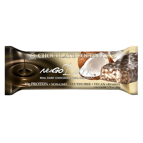 Nugo Nutrition Bar, Dark Chocolate Coconut, 1.76 Ounce