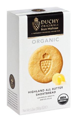 Duchy Originals Organic Highland All Butter Shortbread, 5.3-Ounce