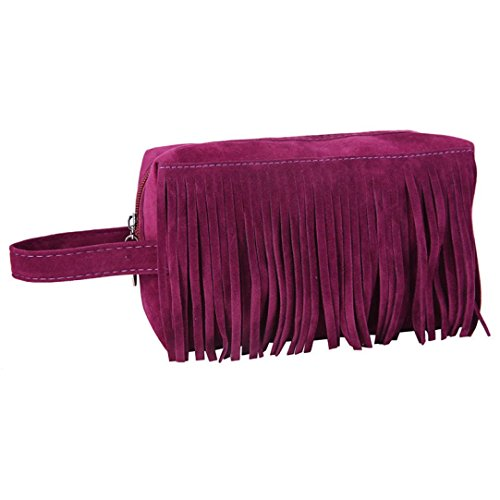 Embroidered Leather Toiletry Bag - 9