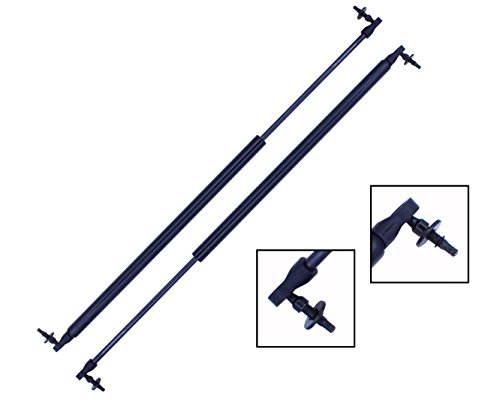 2 Pieces (SET) Tuff Support Liftgate Lift Supports 2001 To 2007 Dodge Grand Caravan / Caravan / Chrysler Town & Country / 2001 To 2003 Chrysler Voyager