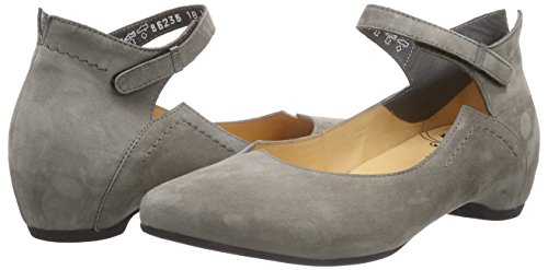 Ballerina toe Grey Think Closed Imma Pumps 18 Women's mud RCw5Pq