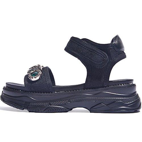 SOHOEOS Sandalias para Mujer Señoras Verano Casual Nueva Plataforma Plana Alta Mule cuña Zapato Abierto sandalias para mujer Green