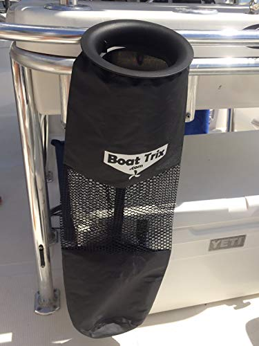 Boat Trash Bag - Medium Hoop Mesh Trash Bag for Your Boat