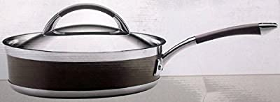 KitchenAid Architect Series 3 Quart Covered Saute Clad Stainless Steel