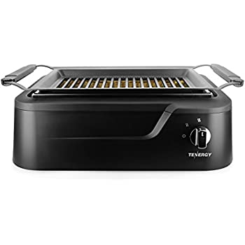 Tenergy Redigrill Smoke-Less Infrared Grill, Indoor Grill, Heating Electric Tabletop Grill, Non-Stick Easy to Clean BBQ Grill, for Party/Home, ETL ...