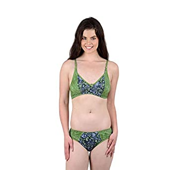 Lovinoform Cotton Non Padded Bra   Panty Set for Women s   Girl s (SIZE-40 acba3a1b5