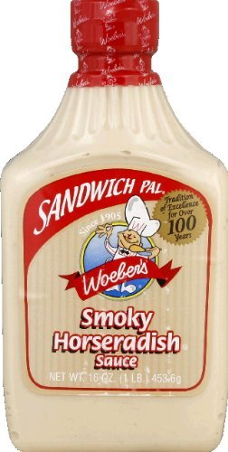 Woeber's Sandwich Pal Smoky Horseradish Sauce 16oz