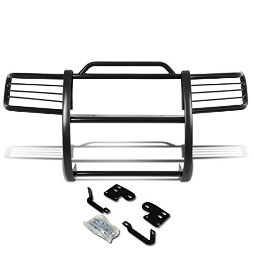 Guards Suv Brush - DNA MOTORING Black GRILL-G-049-BK Front Bumper Brush Grille Guard
