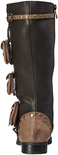 Ellie Shoes Women's 181-Silas Combat Boot 4