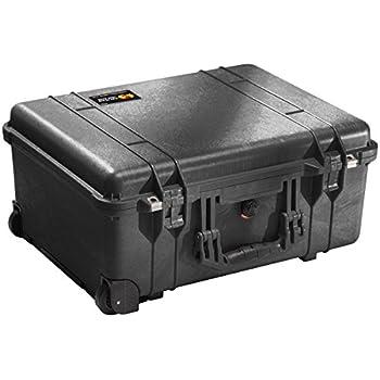 Pelican 1560 Case With Foam (Black)