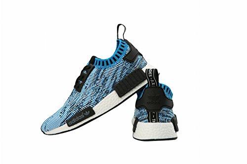 Originals NMD Runner Primeknit edad Kid zapatos, Niños, azul, UK2.5=EUR33.5=22CM