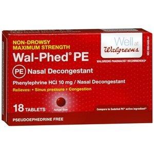 Walgreens Wal-Phed PE