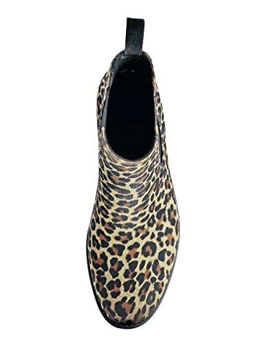 Bockstiegel - Botas de Material Sintético para mujer Negro negro - leopardo