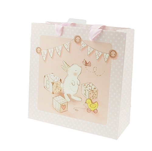 Bunny Kaninchen Baby Mädchen Jungen Dusche Neugeborene Geschenk Tüte