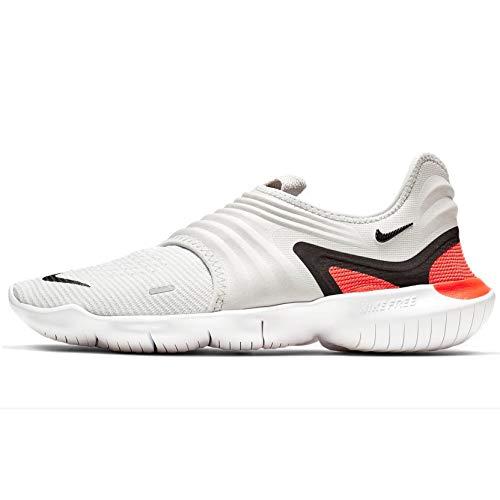 Nike Free RN Flyknit 3.0 (9.5, Vast Grey/Black/White)