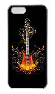 3D Guitar PC Transparent uncommon For Ipod Touch 4 Phone Case Cover
