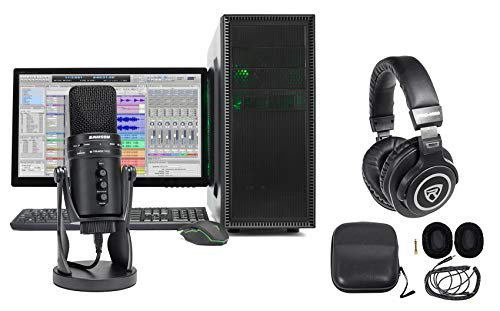 Samson Gaming Streaming Twitch Kit wG-Track Pro Mic+Headphones+Stand