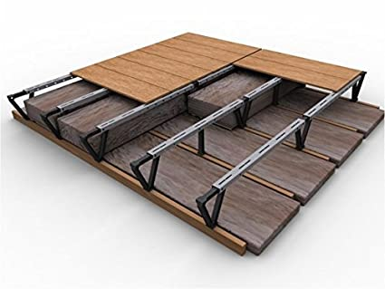 Attic Decking Kit For A Storage Floor Above Deep Attic Insulation